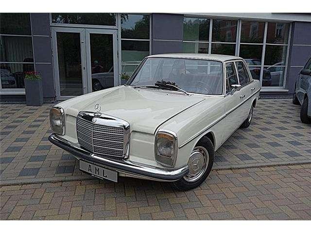 Mercedes-Benz 200 W114 H- Zulassung TÜV NEU!