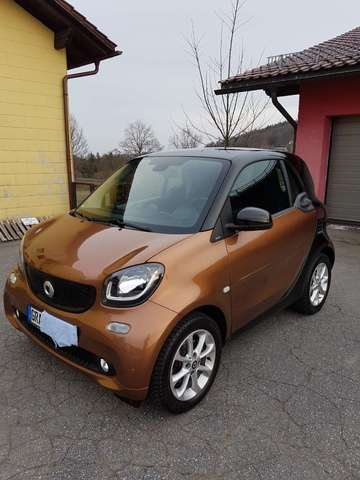 smart fortwo coupe-passion braun
