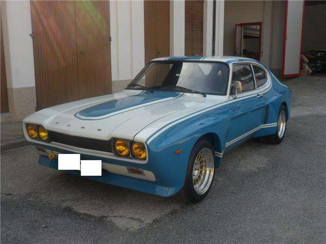 ford capri 2600-rs bianco