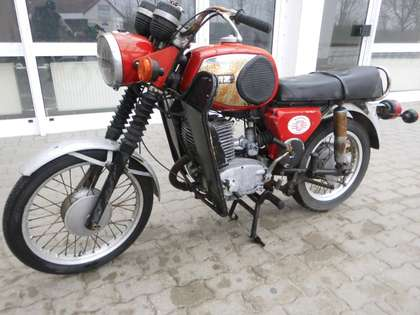 MZ TS 250 Rot