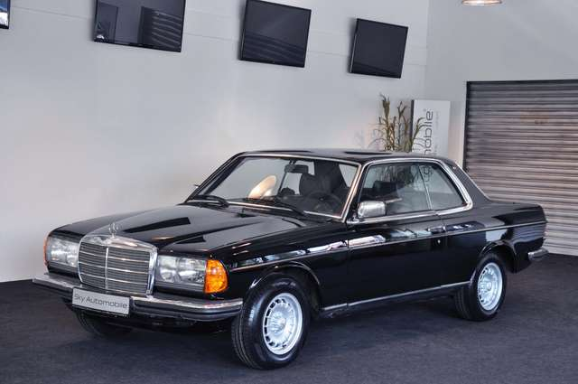mercedes-benz 230 coupe-w123-h-zulassung-tuev-bis-09-2022 schwarz
