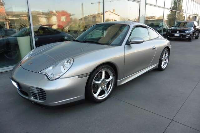 porsche 911 996-carrera-coupe-40-anniversary-40-jahre grey