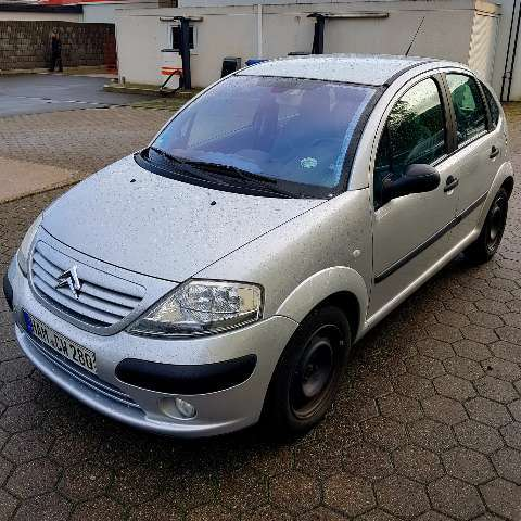 citroen c3 exclusive silber