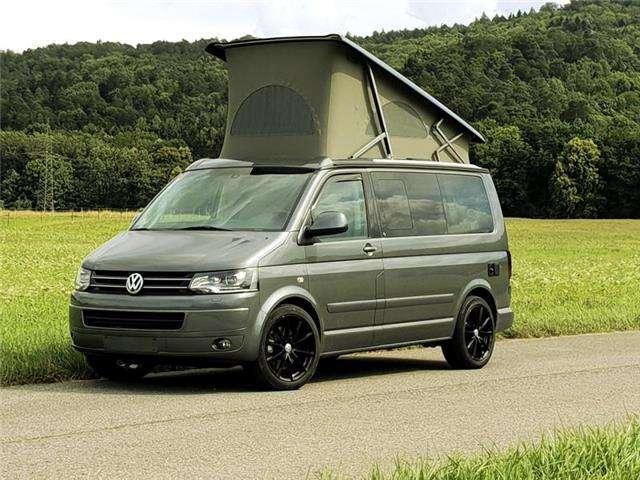 volkswagen t5-california comfortline-xenon-leder-tv-19-zoll-dsg-alarm grau