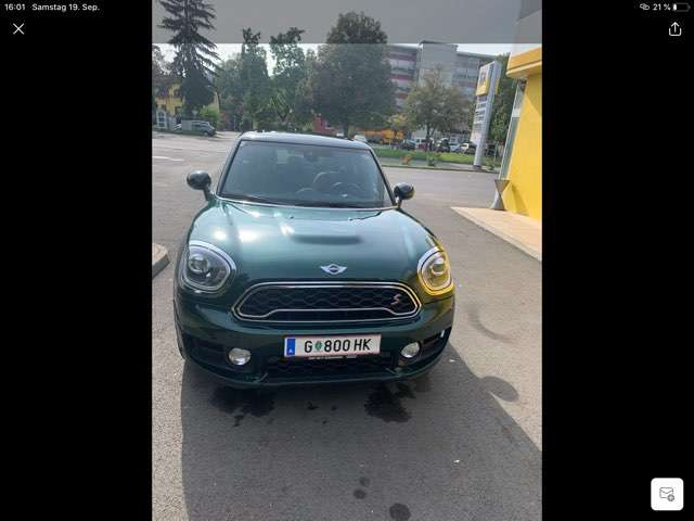mini cooper-s-countryman all4 groen