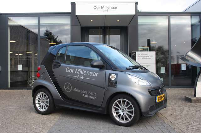 smart fortwo coupe-1-0-mhd-pure-semi-automaat-lm-velgen-mag grijs