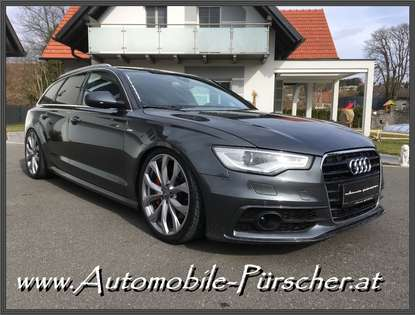 Audi A6 Avant 3,0 TDI quattro-2xS-Line-Luft-Rs6-Look!