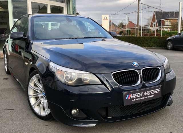 bmw 520 d-150cv-pack-m-a-voir-etat-impeccable-cuir-ja18 bleu