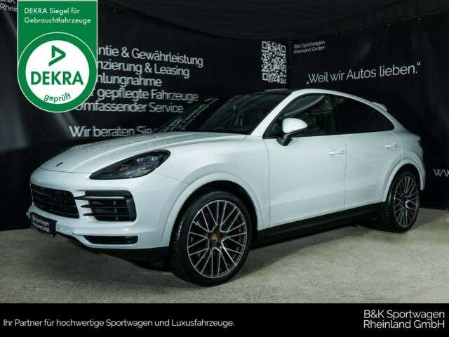porsche cayenne coupe-pdls-22-pasm-hud-surround weiss
