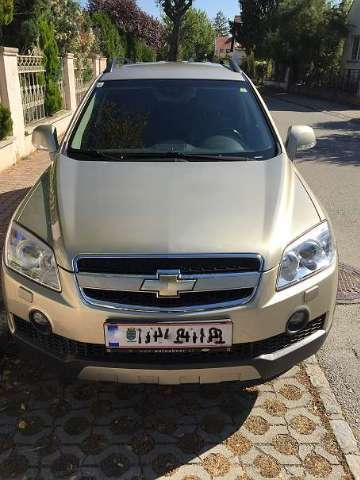 chevrolet captiva ls-2-0-ds-4wd beige